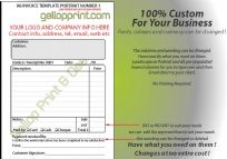 Digital DL or A6 Invoice/Quote Editable PDF